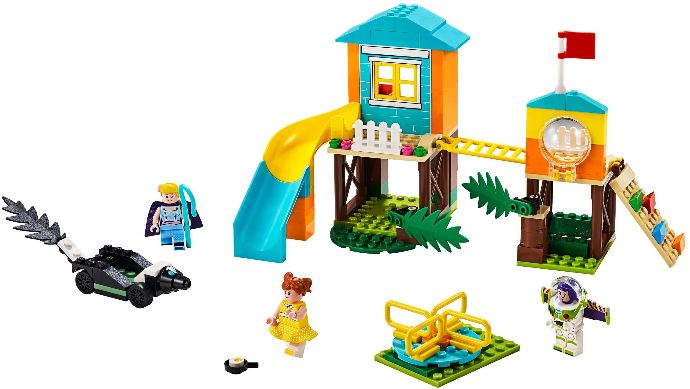 Конструктор LEGO (ЛЕГО) Toy Story 10768 Buzz and Bo Peep's Playground Adventure