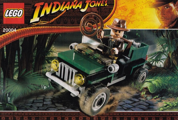Конструктор LEGO (ЛЕГО) Indiana Jones 20004 BrickMaster - Indiana Jones