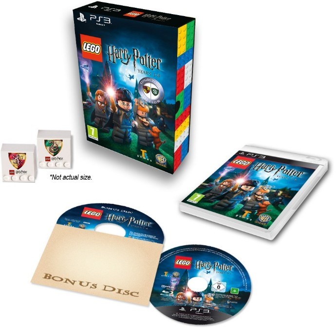 Конструктор LEGO (ЛЕГО) Gear 2855164 Harry Potter: Years 1-4 Video Game Collector's Edition