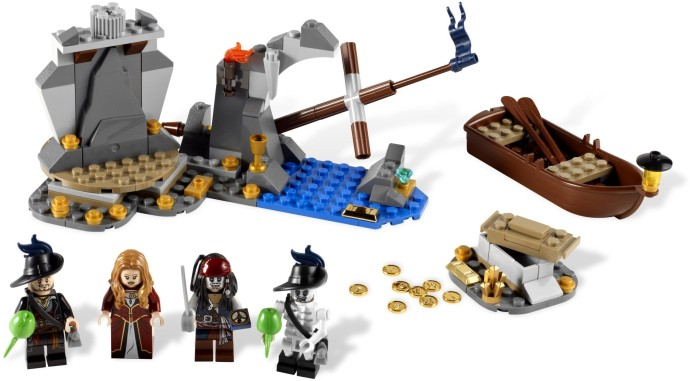 Конструктор LEGO (ЛЕГО) Pirates of the Caribbean 4181 Isla de la Muerta