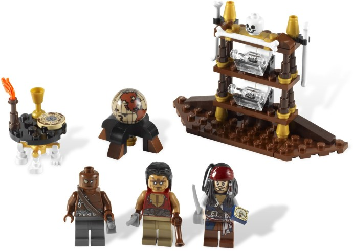 Конструктор LEGO (ЛЕГО) Pirates of the Caribbean 4191 Captain's Cabin