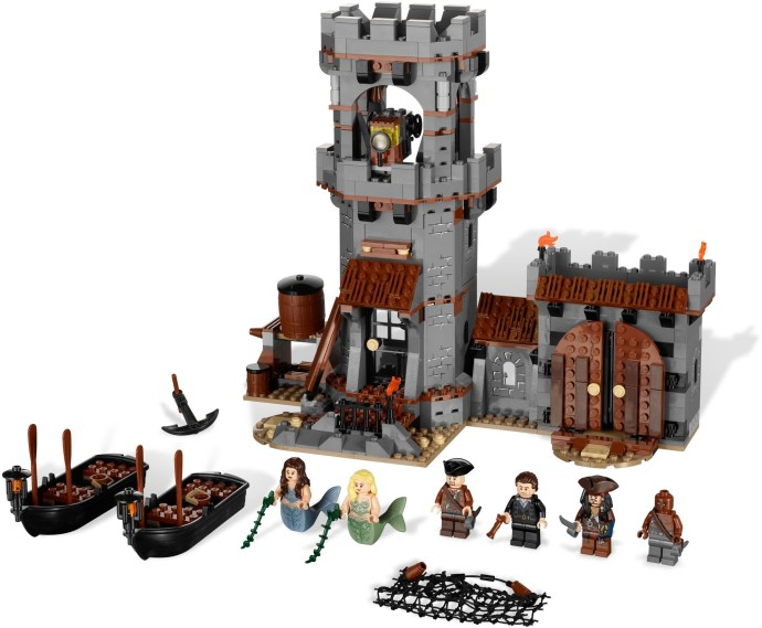 Конструктор LEGO (ЛЕГО) Pirates of the Caribbean 4194 Whitecap Bay