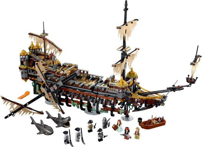 Конструктор LEGO (ЛЕГО) Pirates of the Caribbean 71042 Silent Mary