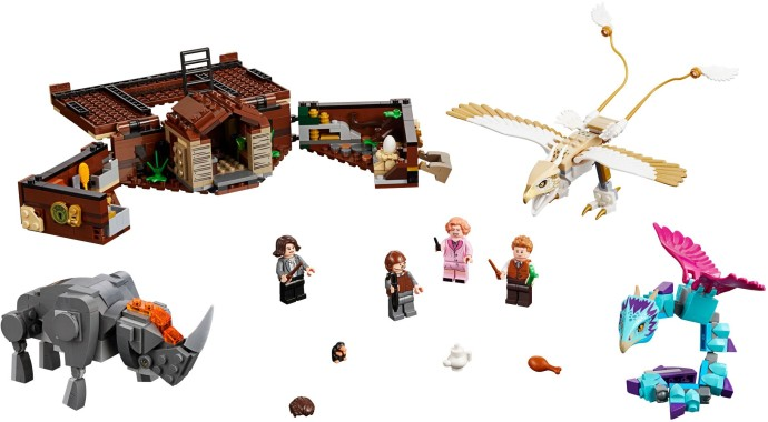 Конструктор LEGO (ЛЕГО) Harry Potter 75952 Newt's Case of Magical Creatures