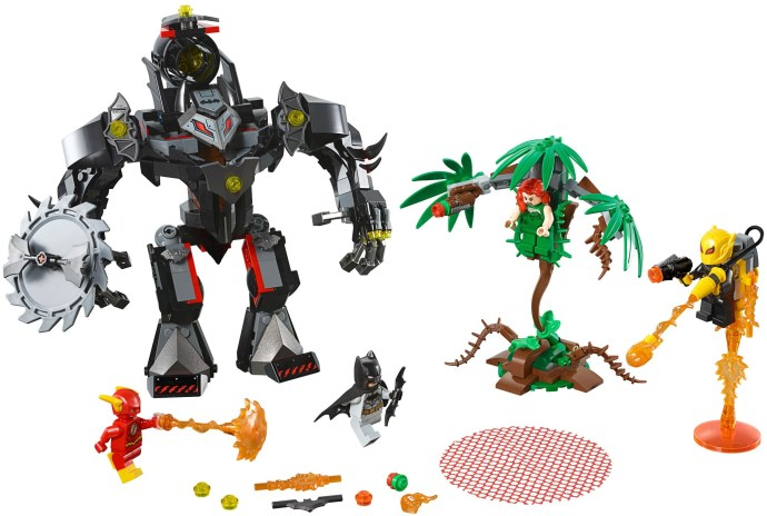 Конструктор LEGO (ЛЕГО) DC Comics Super Heroes 76117 Batman Mech vs. Poison Ivy Mech