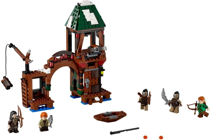 Конструктор LEGO (ЛЕГО) The Hobbit 79016 Attack on Lake-town