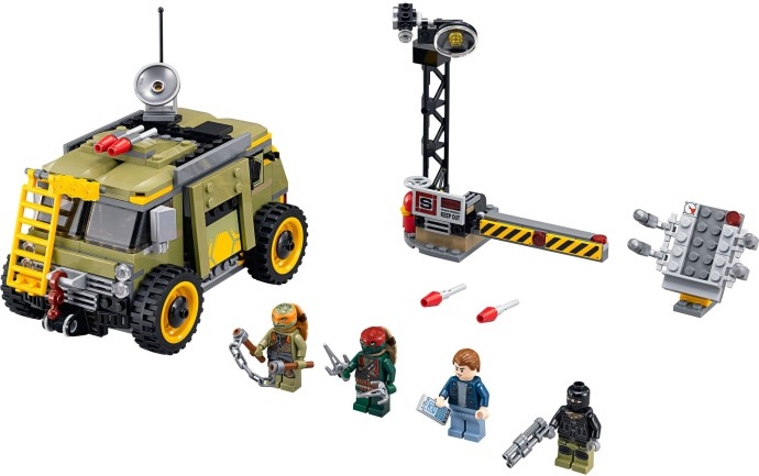 Конструктор LEGO (ЛЕГО) Teenage Mutant Ninja Turtles 79115 Turtle Van Takedown