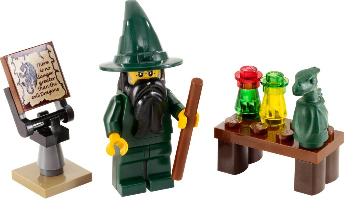 Конструктор LEGO (ЛЕГО) Castle 7955 Wizard