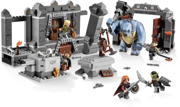 Конструктор LEGO (ЛЕГО) The Lord of the Rings 9473 The Mines of Moria