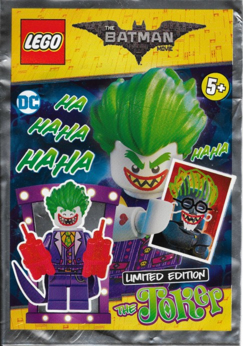 Конструктор LEGO (ЛЕГО) The LEGO Batman Movie 211702 The Joker