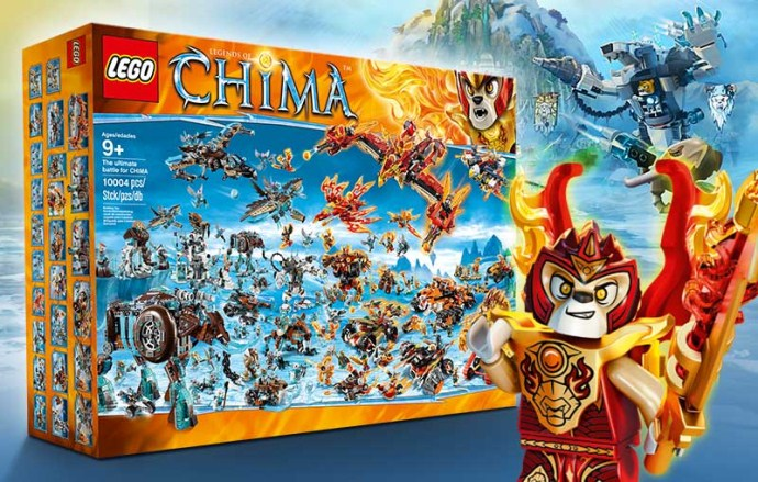 Конструктор LEGO (ЛЕГО) Legends of Chima BIGBOX The ultimate battle for CHIMA