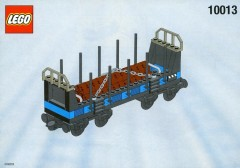 LEGO Trains 10013 Open Freight Wagon