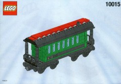 LEGO Trains 10015 Green Passenger Wagon