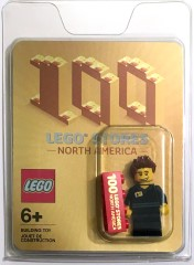 LEGO Promotional 100STORES 100 Stores minifigure