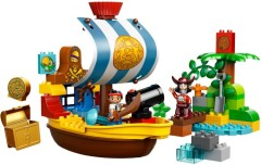 LEGO Duplo 10514 Jake's Pirate Ship Bucky