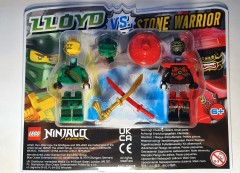 LEGO Ninjago 112006 Lloyd vs. Stone Warrior blister pack
