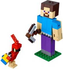 LEGO Minecraft 21148 Minecraft Steve BigFig with Parrot
