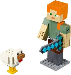 LEGO Minecraft 21149 Minecraft Alex BigFig with Chicken