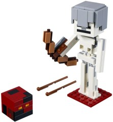 LEGO Minecraft 21150 Minecraft Skeleton BigFig with Magma Cube