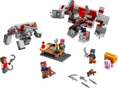 LEGO Minecraft 21163 The Redstone Battle