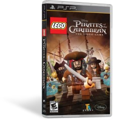 LEGO Мерч (Gear) 2856454 LEGO Brand Pirates of the Caribbean Video Game - PSP
