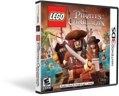 LEGO Мерч (Gear) 2856457 LEGO Brand Pirates of the Caribbean Video Game - 3DS