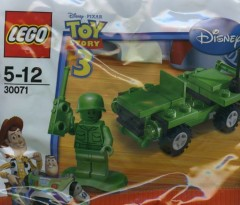 LEGO Toy Story 30071 Army Jeep
