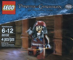 LEGO Pirates of the Caribbean 30132 {Captain Jack Sparrow}