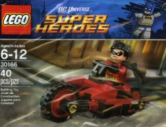 LEGO DC Comics Super Heroes 30166 Robin and Redbird Cycle