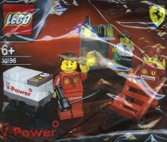LEGO Racers 30196 Shell F1 Team
