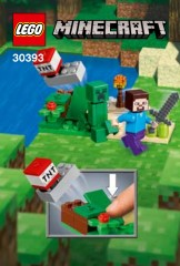 LEGO Minecraft 30393 Steve and Creeper Set