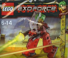 LEGO Exo-Force 3870 Red Walker