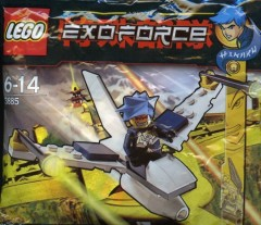 LEGO Exo-Force 3885 Mini Jet Fighter