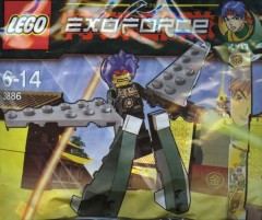 LEGO Exo-Force 3886 Green Exo Fighter