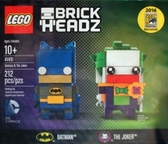 LEGO BrickHeadz 41491 Batman & The Joker