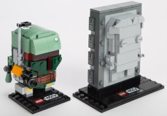 LEGO BrickHeadz 41498 Boba Fett and Han Solo in Carbonite