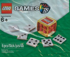 LEGO Games 4648939 Gold Dice
