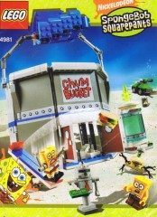 LEGO SpongeBob SquarePants 4981 The Chum Bucket