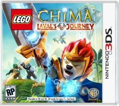 LEGO Мерч (Gear) 5002664 Legends of Chima Laval's Journey Nintendo 3DS Video Game