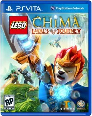 LEGO Мерч (Gear) 5002666 Legends of Chima Laval's Journey PS Vita Video Game