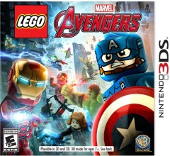 LEGO Мерч (Gear) 5005060 Marvel Avengers Nintendo 3DS Video Game