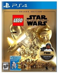 LEGO Мерч (Gear) 5005136 The Force Awakens PS 4 Video Game – Deluxe Edition