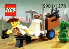 LEGO Adventurers 5903 Johnny Thunder and Baby T