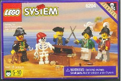 LEGO Pirates 6204 Buccaneers