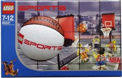 LEGO Sports 65221 Street Basketball set with Spalding mini-basketball