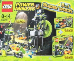 LEGO Power Miners 66319 Power Miners Super Pack 3 in 1