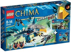 LEGO Legends of Chima 66450 Super Pack 3-in-1