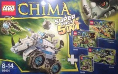 LEGO Legends of Chima 66491 Super Pack 5 in 1