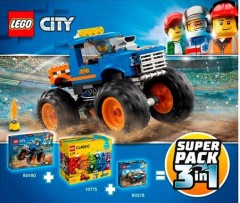 LEGO City 66615 Super Pack 3-in-1