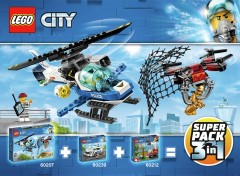 LEGO City 66619 Super Pack 3-in-1